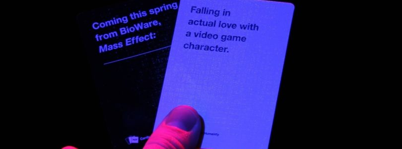 Cards Against Humanity meets Mass Effect