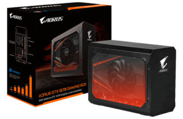 Turn that old laptop into a powerhouse with the AORUS GTX 1070 Gaming Box